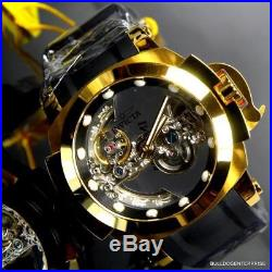 Invicta Man of War Coalition Forces Ghost Bridge Automatic Gold Plated Watch New