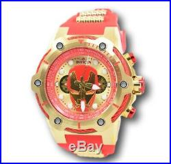 Invicta Marvel Iron Man Men's Red Silicone Limited Edition 26906 Watch 51MM