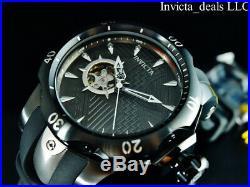 Invicta Marvel Men's 52mm Venom BLACK PANTHER Automatic Ltd Ed Black SS Watch