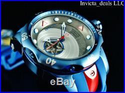 Invicta Marvel Men's 52mm Venom CAPTAIN AMERICA Automatic Ltd Ed Blue/Red Watch