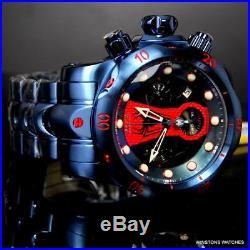 Invicta Marvel Reserve Venom Spider Man 52mm Swiss Mvt Blue Steel Watch New
