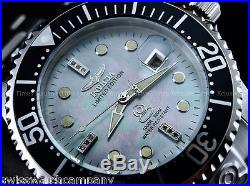 Invicta Men 47mm Grand Diver Diamond Limited Ed Automatic Platinum MOP SS Watch