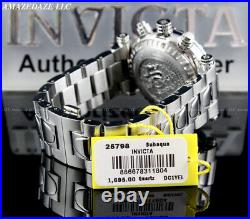 Invicta Men 47mm SAN I BLUE ABALONE DIAL Swiss Chrono Stainless Steel LE Watch