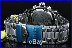 Invicta Men 48 MM Pro Diver Scuba Black Dial Chronograph S. S Bracelet Watch NEW