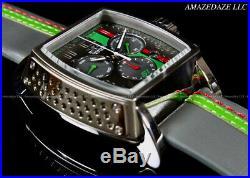 Invicta Men 48mm Tonneau S1 Rally Race Team Swiss Z60 Chrono Grey Tone SS Watch