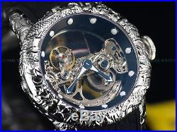 Invicta Men 50mm Empire Dragon Sapphire Crystal Automatic Skeleton Dial SS Watch