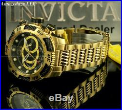 Invicta Men 50mm Speedway Viper GenIII Chronograph Stainless St BLACK DIAL Watch