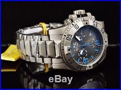 Invicta Men 50mm Titanium Excursion Ronda Z60 Chronograph Watch with1SlotCase Free