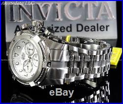 Invicta Men 52mm Bolt Zeus Swiss Z60 Chronograph Stainless St. Silver Dial Watch