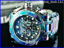 Invicta Men 52mm Coalition Forces Chronograph ABALONE Dial IRIDESCENT Tone Watch