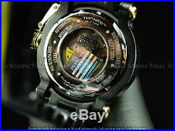 Invicta Men 52mm Coalition Forces Dragon Automatic 18KGP Triple Black SS Watch