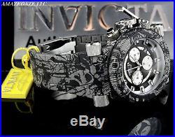 Invicta Men 52mm Coalition Forces Swiss Chrono GRAFFITI HYDROPLATED SS Watch
