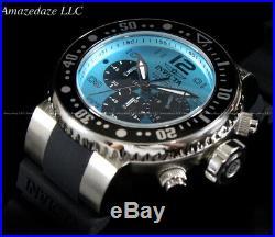 Invicta Men 52mm Grand Pro Diver Ocean Voyage Chronograph Ocean Blue Dial Watch