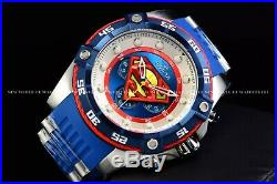 Invicta Men 52mm Limited Edition DC Comics SUPERMAN Blue Tone Chronograph Watch