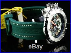 Invicta Men 52mm Pro Diver OCEAN MASTER LE Swiss Chrono Abalone Dial Strap Watch