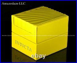 Invicta Men 52mm Pro Diver SCUBA Chronograph BLACK Fiber Glass 2 Tone SS Watch
