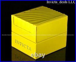 Invicta Men 52mm Pro Diver Scuba Chrono Iridescent ABALONE DIAL Black Tone Watch