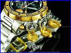 Invicta Men 52mm Rader Subaqua Sea Dragon Torpedo Swiss Chrono 18KGIP SS Watch
