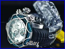 Invicta Men 52mm Reserve VENOM Bolt Hybrid Aqua Blue Swiss ETA Chrono SS Watch