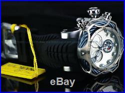 Invicta Men 52mm Reserve VENOM Bolt Hybrid Torq Blue Swiss ETA Chrono SS Watch