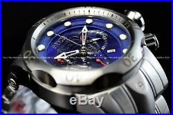 Invicta Men 54mm Reserve Venom Viper King Cobra Swiss Mvt Blue Silver Watch