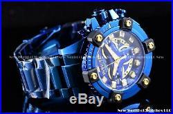 Invicta Men 63mm Coalition Force Grand Octane Blue Label High Polish Swiss Watch