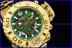Invicta Men 70MM Gen II Sea Hunter Swiss Z60 Chrono HIGH POLISHED18KGIP SS Watch