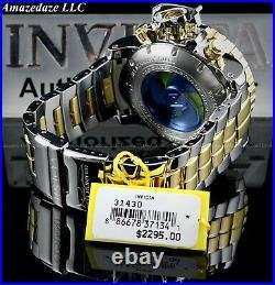 Invicta Men 70mm SEA HUNTER Swiss Chrono High Polished 2Tone SS BROWN DIAL Watch