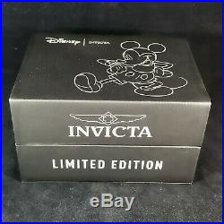 Invicta Men Disney Mickey Mouse Limited Edition Gold Diver 25107 Automatic Watch