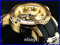 Invicta Men Limited Ed Droids Scuba C3PO StarWars Pro Diver Chrono Gold Tn Watch