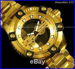 Invicta Men Octane Arsenal Ghost Bridge LE Automatic Skeletonize 18K SS Watch