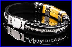 Invicta Men PRO DIVER 18k GOLD Plated Coin Edge Bezel EXTRA Bracelet SS Watch