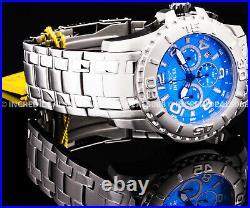 Invicta Men PRO DIVER SCUBA CHRONOGRAPH Blue Dial Silver Bracelet 48mm Watch