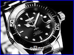 Invicta Men PRO DIVER SUBMARINER Scalloped Bezel Automatic Classic Blk/SS Watch
