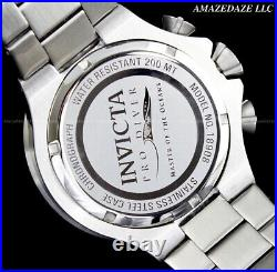 Invicta Men Pro Diver Scuba VD57 Chronograph Stainless St. GUNMETAL DIAL Watch