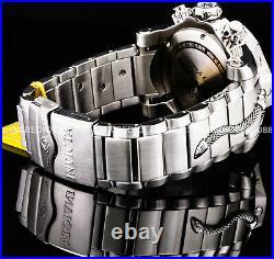 Invicta Men RESERVE VENOM SNAKE SWISS MVT Chronograph Purple Silver 52mm Watch