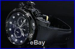 Invicta Men Reserve 52mm Venom Combat Swiss Made Chrono Genuine Leathr S. S Watch