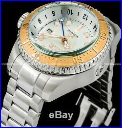 Invicta Men Reserve Hydromax Swiss Quartz Rose Gold Silver Bracelet Watch 16964