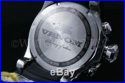 Invicta Men SEA DRAGON Gen II Venom BLACK MOP Rose Gold Bezel Chrono S. S Watch