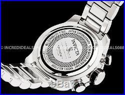 Invicta Men Speedway Viper Gen lll Chronograph Green Silver Bracelet 52mm Watch
