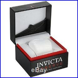 Invicta Men's 0360 Venom Chronograph Black Leather Watch