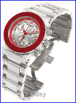 Invicta Men's 10930 Ocean Reef Chronograph Silver Dial Stainless Steel Watch