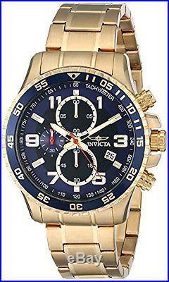 Invicta Men's 14878 Specialty Chronograph Dark Blue Textured Dial Watch