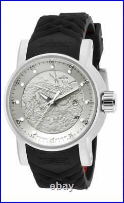 Invicta Men's 15862 S1 Rally Analog Display Japanese Automatic Black Watch