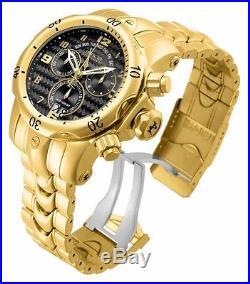 Invicta Men's 17634 Venom Quartz Chronograph Gold Dial Watch