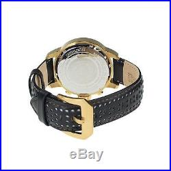Invicta Men's 19908 S1 Rally Gold Plated Stainless Steel Watch with Leather Strap