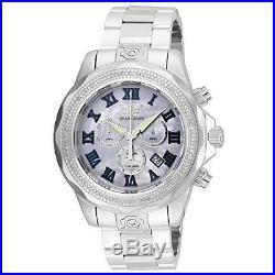 Invicta Men's 21712 Pro Diver Quartz Chronograph Platinum Dial Watch
