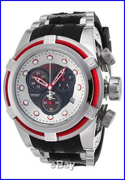 Invicta Men's 22161 Bolt Zeus Reserve Chronograph Black and Silver Dial Watch