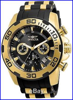 Invicta Men's 22312 Pro Diver Quartz Chronograph Black Dial Watch