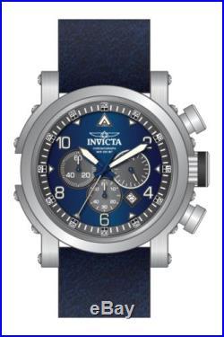 Invicta Men's 23367 I-Force Quartz Chronograph Blue, Grey Dial Watch